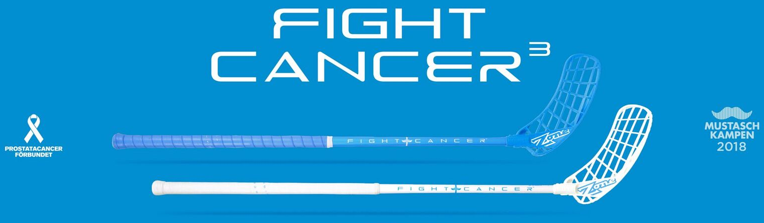 Fight Cancer floorball stave