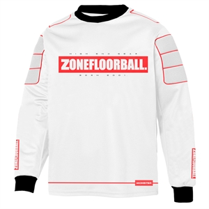 Floorball målmandstrøje - Zone Monster - målmands bluse (Str. 140-3XL)