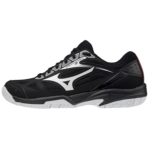 Str. 32,5-35 - Mizuno Cyclone Speed 2 JR – Floorballsko - Sort/hvid